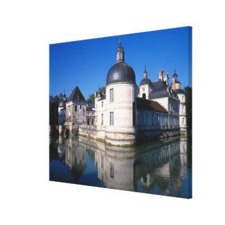 Chateau Tanlay, Tanlay, Burgundy, France Canvas Print