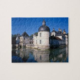 Chateau Tanlay, Tanlay, Burgundy, France Jigsaw Puzzle