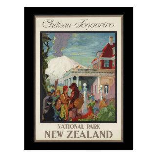 Chateau Tongariro New Zealand Postcard