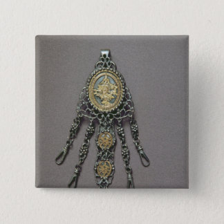 Chatelaine, late 18th century 15 cm square badge