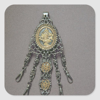 Chatelaine, late 18th century square sticker