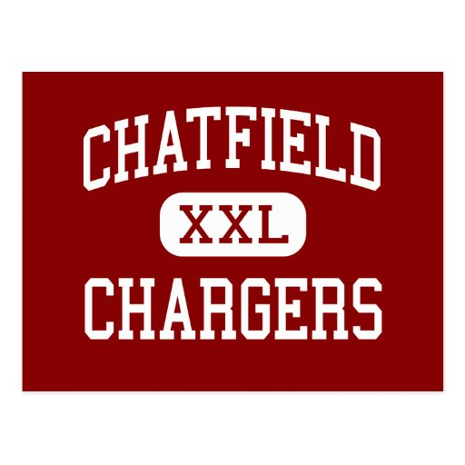 Chatfield - Chargers - Senior - Littleton Colorado Post Card