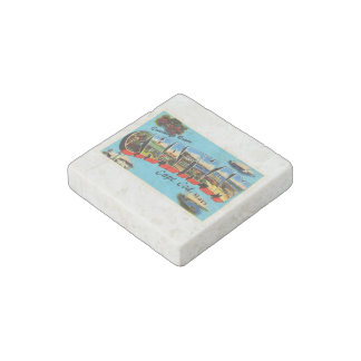 Chatham Cape Cod Massachusetts MA Travel Souvenir Stone Magnet