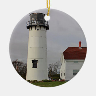 Chatham Light Round Ceramic Decoration