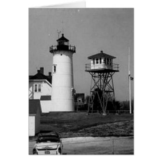 Chatham Lighthouse Greeting Card