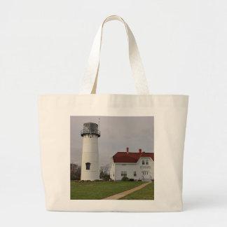 Chatham Lighthouse Large Tote Bag