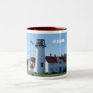 Chatham Lighthouse Two-Tone Coffee Mug
