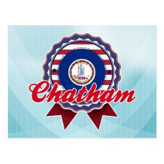 Chatham, VA Postcard