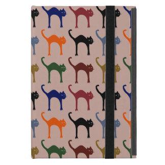 chats colorés iPad mini cover