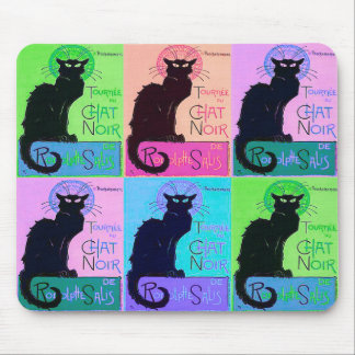 Chats Noir (Black Cats) Mouse Mat