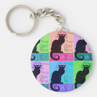 Chats Noir Keychain