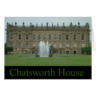 Chatsworth House Card