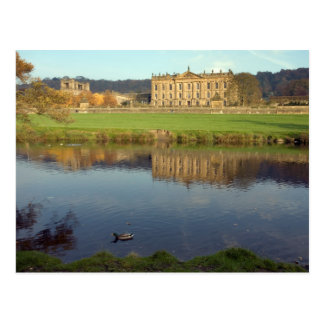 Chatsworth House in Derbyshire, England Postcard