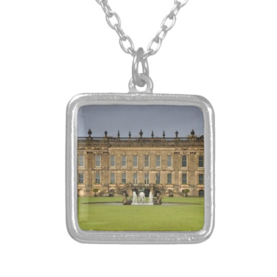 Chatsworth House Pemberly Silver Plated Necklace