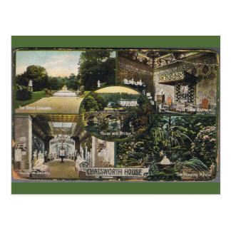 Chatsworth House Postcard