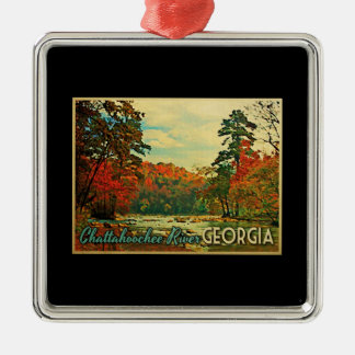 Chattahoochee River Georgia Christmas Ornament