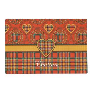 Chattan clan Plaid Scottish tartan Laminated Place Mat