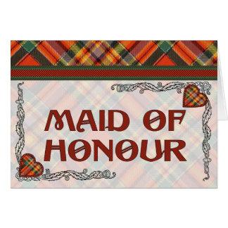 Chattan Scottish Tartan Card