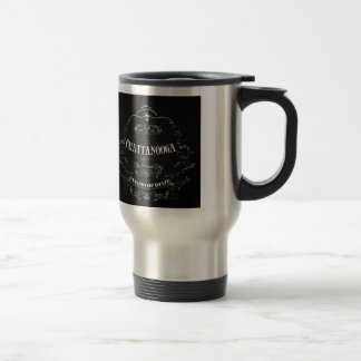 Chattanooga City Tennessee Art  - The Scenic City Stainless Steel Travel Mug