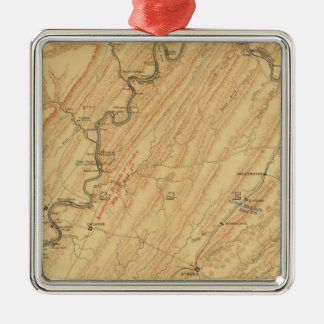 Chattanooga, Tennessee Christmas Ornament