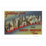 Chattanooga, Tennessee - Large Letter Scenes Postcards