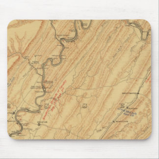 Chattanooga, Tennessee Mouse Mat
