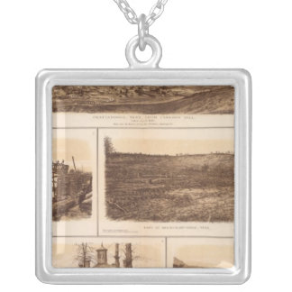 Chattanooga Tennessee River Silver Plated Necklace