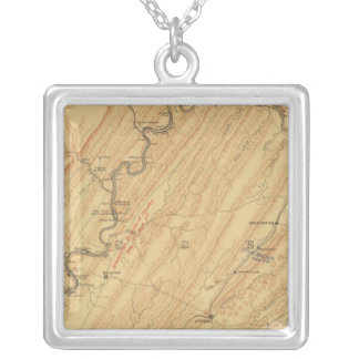Chattanooga, Tennessee Silver Plated Necklace