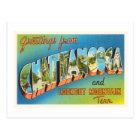 Chattanooga Tennessee TN Vintage Travel Souvenir Postcard