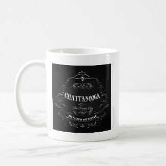 Chattanooga, The Scenic City. Dynamo of Dixie Basic White Mug