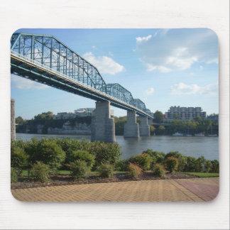 Chattanooga Walking Bridge Mousepad
