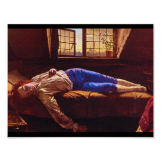 Chatterton' (1856),_Groups and Figures Poster