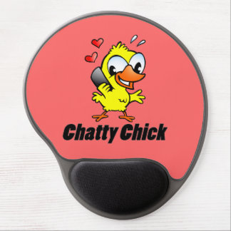 Chatty Chick Gel Mouse Pad