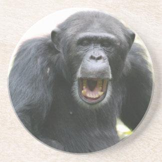 Chatty Chimpanzee Plate Coaster