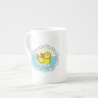 Chaucer the Rubber Duck Specialty Mug Bone China Mug