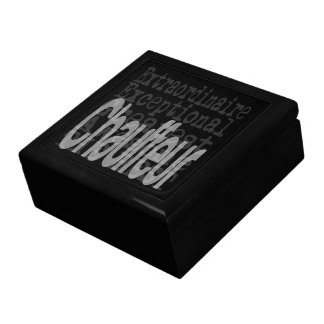Chauffeur Extraordinaire Gift Box