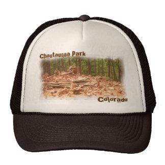 Chautauqua Park colorado hat