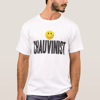 Chauvinist Smiley Tag T-Shirt