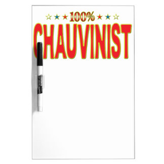 Chauvinist Star Tag Dry-Erase Whiteboards