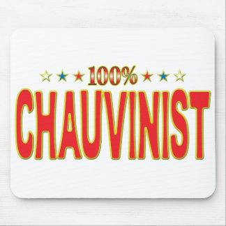 Chauvinist Star Tag Mousemats