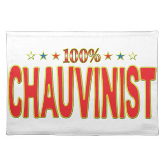Chauvinist Star Tag Place Mats