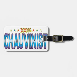Chauvinist Star Tag v2 Tag For Bags