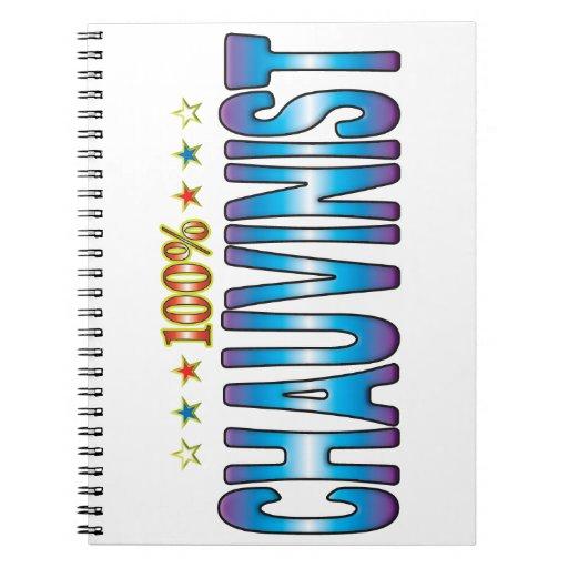 Chauvinist Star Tag v2 Notebooks