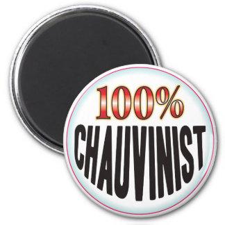 Chauvinist Tag Fridge Magnet