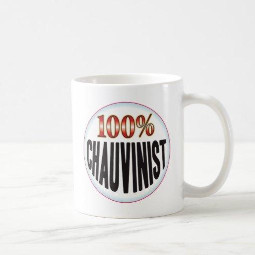 Chauvinist Tag Coffee Mugs
