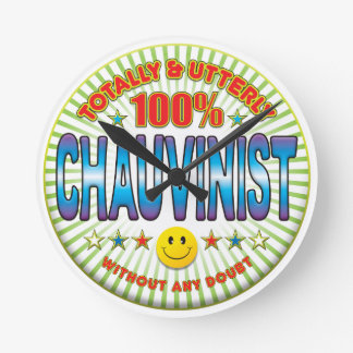 Chauvinist Totally Clock