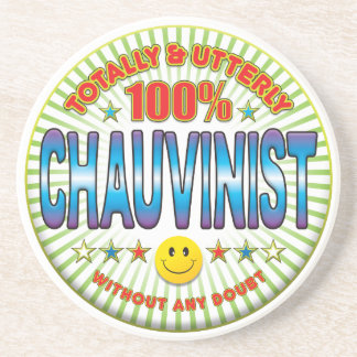Chauvinist Totally Beverage Coaster