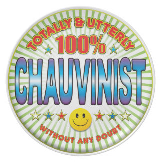 Chauvinist Totally Plate