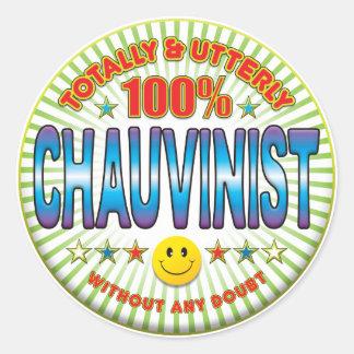 Chauvinist Totally Sticker