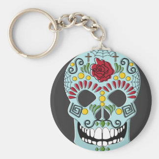 Chaveira Mexicana Skull Key Ring